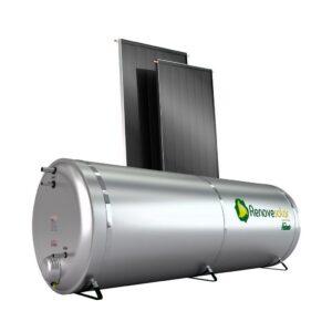Kit Aquecedor Solar 500 Litros Baixa Pressão Nível - Inox 304 + 03 Coletor V2.00