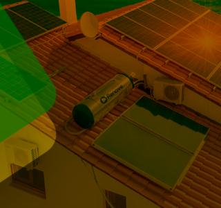 O que é um aquecedor solar